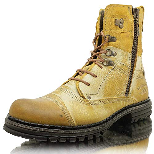 YELLOW CAB Boots Sergeant S18057 - Black