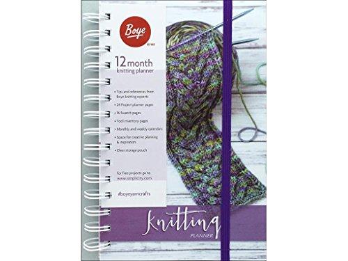 Boye 12 Month Planner Knitting