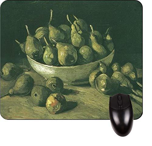 Vincent Van Goghs Stillleben mit einer irdenen Schale und Birnen - Vincent Willem Van Gogh / Postimpressionist / Postimpressionismus / Niederländisch / Niederlande / Frankreich / Französisch / Painter