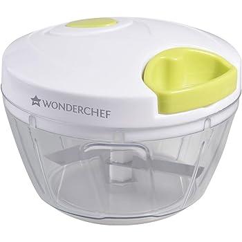 Wonderchef String Plastic Chopper, White and Green