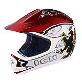 AHR DOT Youth Motocross Helmet Full Face Offroad Dirt Bike Helmet Motorcycle ATV Mountain Bike Sports