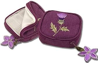 Pill Box in a Glencoe Thistle Design.