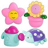Jouets de bain Cadeau pour Bébés,Morbuy Jeu de Bain Gicleurs Bébé Lot de 4 pièces (Jardin x 4)