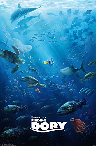 """Trends International Finding Dory Movie Wall Poster 22.375"""" x 34"""""""