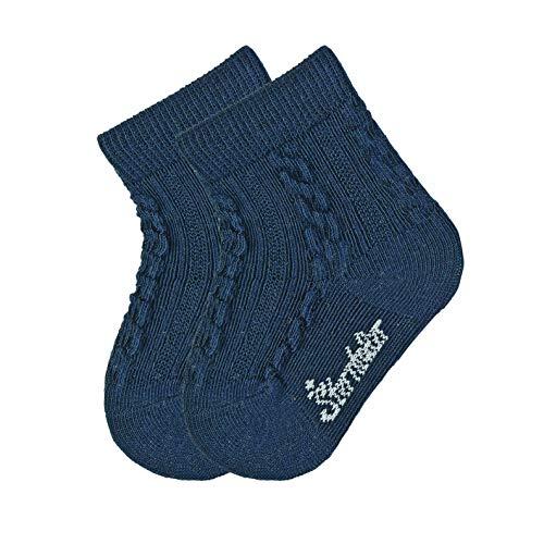 Sterntaler Unisex Baby Sneaker-söckchen 3er Pack Socken, Blau Melange, 23-26 EU