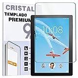 REY Protector de Pantalla para Lenovo Tab P10 10.1', Cristal Vidrio Templado Premium, Táblet
