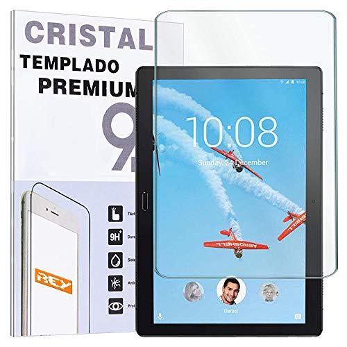 "REY Protector de Pantalla para Lenovo Tab P10 10.1"", Cristal Vidrio Templado Premium, Táblet"