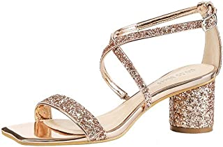 De Vestir Sandalias esZapatos Amazon Color Champagne EHW2I9D