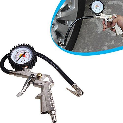 Starall Reifen Manometer, LCD Digital Luftdruck Diagnosewerkzeug Auto Druck Kompressor Manometer Für Auto Auto Motorrad Lkw