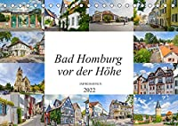 Bad Homburg vor der Hoehe Impressionen (Tischkalender 2022 DIN A5 quer): Beeindruckende zwoelf Bilder der Stadt Bad Homburg vor der Hoehe (Monatskalender, 14 Seiten )