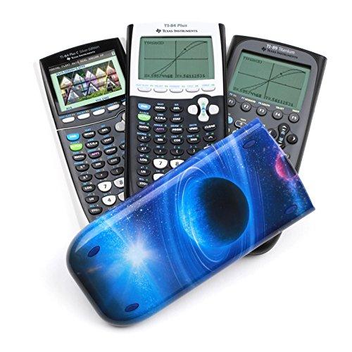 Guerrilla Hard Slide Case-Cover for TI-84 Plus, TI 84-Plus C Silver Edition, TI-89 Titanium Graphing Calculator, Galaxy Photo #8