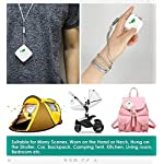 Aibrisk air purifier necklace personal, mini portable wearable air purifier smoke eliminator usb charging travel air… 11 ✔ mini air purifier : this advanced air cleaner purifier captures up the airborne particles(pm 2. 5), dust, cigarette smoke, cooking odor and bad smell etc. Keep the air fresh! ✔ no chemical : no chemical composition, filter element does not need to be replaced. Effectively improving the air quality and freely breathing fresh air at home. ✔ wide application : it can wear on your neck,hand,bag, trousers hook,baby carriage,camping or just put it on your desk. Enjoy fresh air that's completely natural and healthy to breathe.