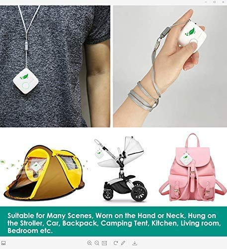 Aibrisk air purifier necklace personal, mini portable wearable air purifier smoke eliminator usb charging travel air… 5 ✔ mini air purifier : this advanced air cleaner purifier captures up the airborne particles(pm 2. 5), dust, cigarette smoke, cooking odor and bad smell etc. Keep the air fresh! ✔ no chemical : no chemical composition, filter element does not need to be replaced. Effectively improving the air quality and freely breathing fresh air at home. ✔ wide application : it can wear on your neck,hand,bag, trousers hook,baby carriage,camping or just put it on your desk. Enjoy fresh air that's completely natural and healthy to breathe.