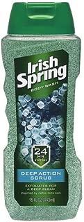 Irish Spring Body Wash, Deep Action Scrub, 15 Fl Oz