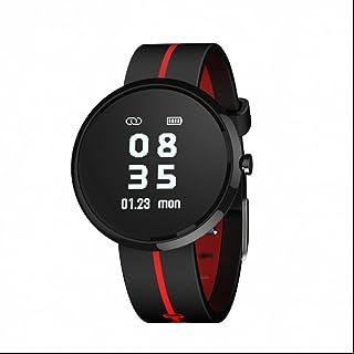 Pulsera Inteligente Calorias,Pulsera de actividad con Fitness Tracker Monitor de Calorías Monitor de Ritmo Cardíaco y Sueño Notificación de mensajes para Android y iOS Teléfono
