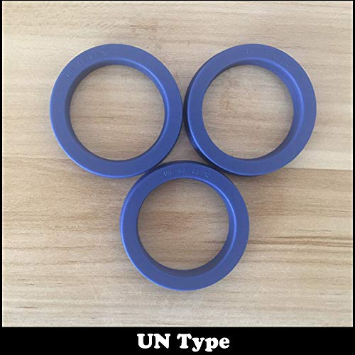 Ochoos UN 486310 48x63x10 48.35810 48.3x58x10 Blue U Cup Lip Pneumatic Piston Hydraulic Rotary Shaft Rod Ring Gasket Wiper Oil Seal - (Size: 3Pcs 48x63x10)
