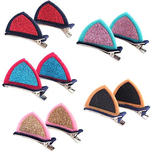 YUHUISTART Decorative Solid Velvet Cute Party Hairband Kids Girls Comfort Headbands Headwear