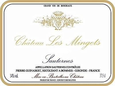 Chateau Les Mingets, (375ml), 2011, Sauternes
