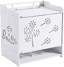 Jcnfa-Shelves Home Storage Box, for Desk/Router |Cable Storage Box, Set-top Box , Console White ,2 Style (Color : Dandelion, Size : 10.237.0810.43in)