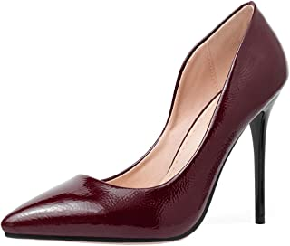 KemeKiss Women Elegant Stiletto High Heels Pumps Slip On