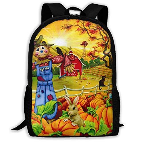 Rucksack Erwachsene Rucksäcke Jungen Schultertasche Schulranzen Schule Saison Vogelscheuche Teile Puzzle Sunsout Reisetasche