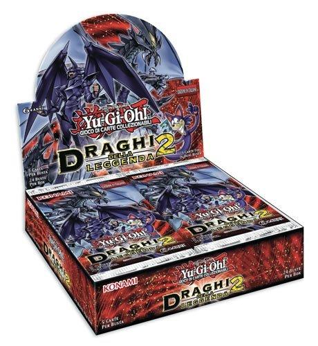 Yu-Gi-Oh! Draghi della Leggenda 2 display 24 buste 1a edizione (IT)