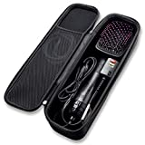 Caseling Hard Case Fits Revlon One Step Hair Dryer & Styler or Dyson Supersonic Hair Dryer Storage Carrying Pouch Bag with Easy Grip Carry Handle and Premium Zipper (Not for Volumizer/curling iron)