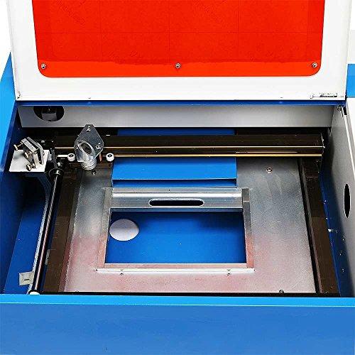 OrangeA Laser Engraving Machine 40W CO2 Laser Engraver 300 x 200mm Laser Cutting Machine with Exhaust Fan USB Port (40W 200 x 300mm)