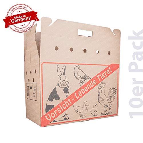 25x Feinkost-Tragekarton Gourmet Vintage Wellpappe f/ür 2 Gl/äser 17 x 8 x 12 cm