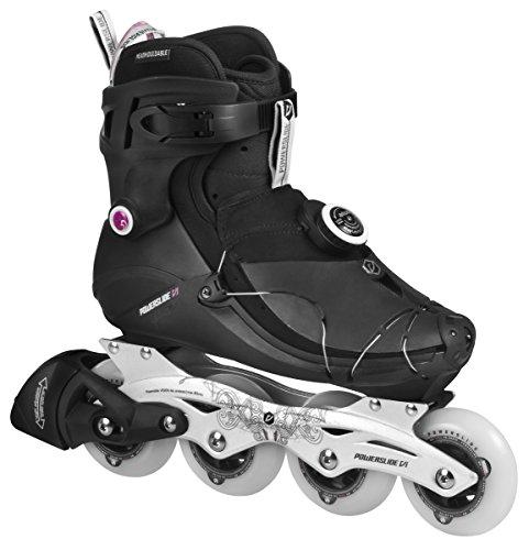 Powerslide Damen Inline-Skate VI SPC Pure, Schwarz, 36