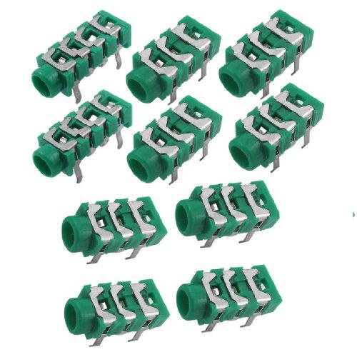 Aexit MP3 Kopfhörer Kopfhörer 6 Pin PCB 3,5 mm Klinkenbuchse Spart Teil 10 Stck (eaf1a6e39f7cd5e26f995c2044978107)
