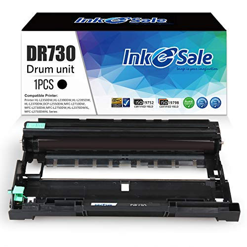 INK E-SALE Compatible Drum Replacement for Brother DR730 Dr-730 Dr 730, for Use with Brother HL-L2350DW L2390DW L2395DW HL-L2370DW Hl-L2370DWXL DCP-L2550DW Mfc-L2710DW L2730DW L2750DW L2750DWXL