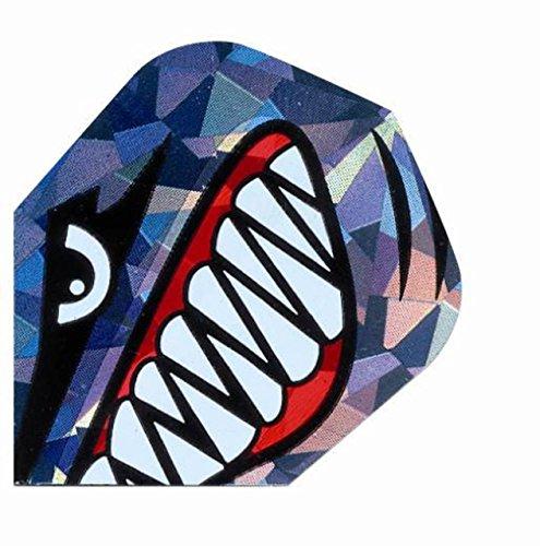 Neue Harrows Hologramm Extra Stark & geprägt Shark Design Dart Flight