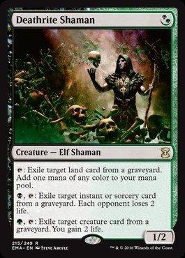 Magic The Gathering - Deathrite Shaman (215/249) - Eternal Masters