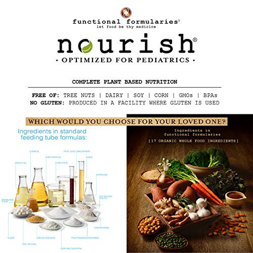 Functional Formularies Nourish Organic Tube Feeding Formula and Nutritional Meal Replacement Supplement, 24 Pack 5