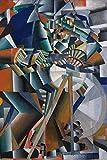 1art1 Kazimir Malévich - El Afilador de Cuchillos Principio de la Animación, 1913 Póster (120 x 80cm)