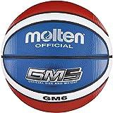 Molten Top Training Basketball Größe 6, Rot/Weiß/Blau