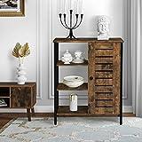 Aparador de diseño industrial, mueble de cocina, cajonera aparador, estilo vintage