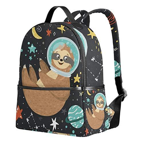 Sloth Backpack for Girls Elementary School Bags Cute Bookbag for Kids 1st 2nd 3rd Grade