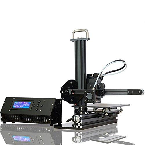 Wotefusi Haute Precision Imprimante 3D Amélioré Bureau Aluminium Bricolage