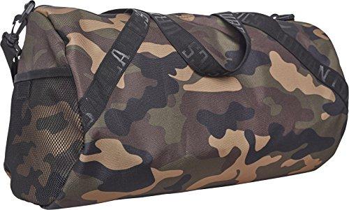Urban Classics Sports Bag Sporttasche, 43 cm, 23, 4 L, Wood Camo