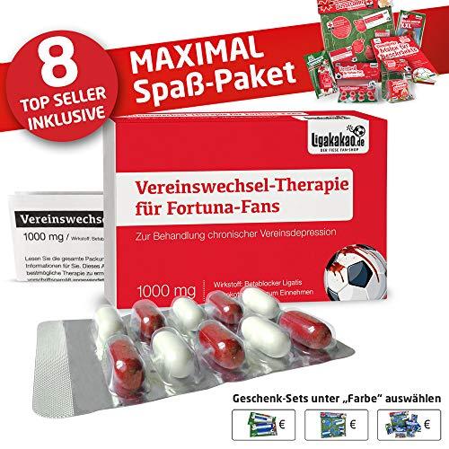 Fortuna Fahne ist jetzt das MAXIMAL SPAß Paket für Fortuna-Fans by Ligakakao.de | große Hissfahne mit Vereins Logo, rot-weiß