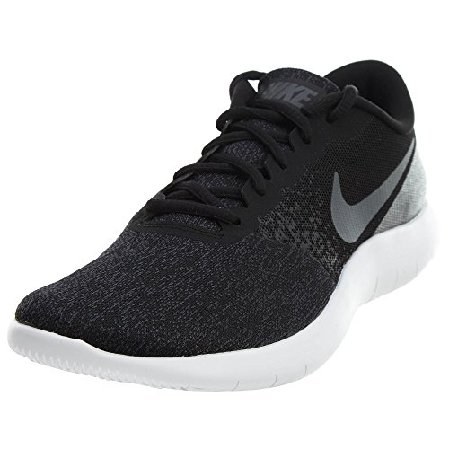 Nike Flex Contact, Zapatillas de Running para Asfalto para Hombre, Negro (Black/Dark Grey-Anthracite-White), 41 EU