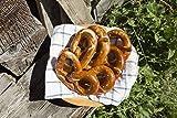Brezel Tirolesi Gustos, Kit da 4 confezioni da 150 g, il pane speciale intrecciato a mano, perfetto per uno snack veloce, per l'aperitivo e insieme ai würstel bianchi