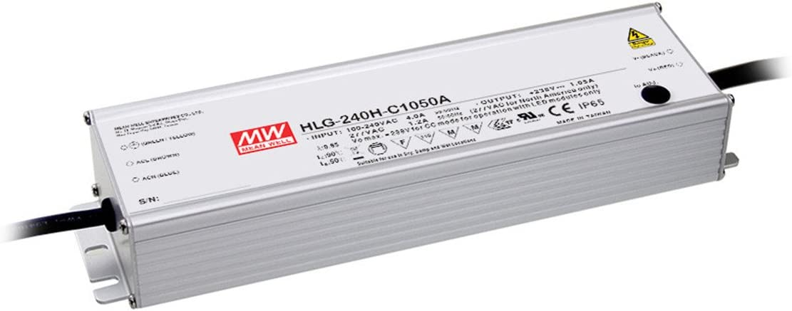 MW Mean Well HLG-240H-C2100B 119V 2100mA Output shopping Sw 249.9W Phoenix Mall Single