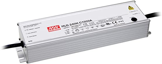 MW Mean Well HLG-240H-C2100B 119V 2100mA 249.9W Single Output Switching LED Power Supply with PFC