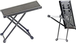 Stagg FOS-B1 BK Metal Guitar Footstool, black