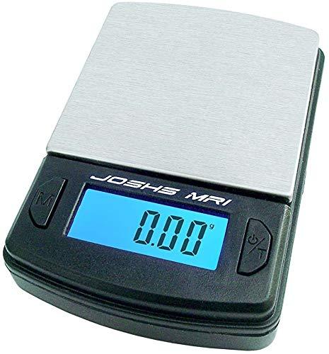 Dipse Balance numérique de poche avec surface de pesée en acier inoxydable Précision de 0,01 g à 100 g/ 0,01 g