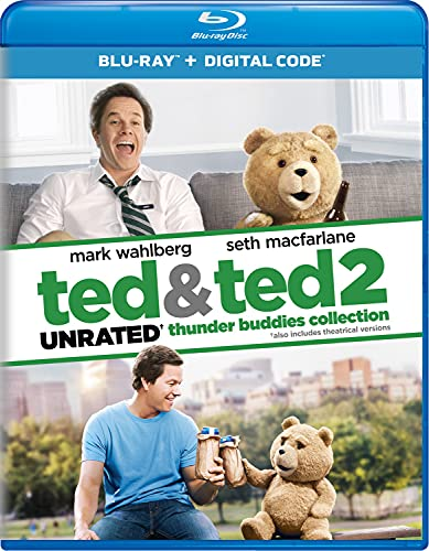 Ted & Ted 2 Unrated Thunder Buddies Collection [Blu-ray]