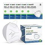 Wawech mascarillas ffp2 50 pcs desechables adultos respirador antipolvo homologada 5 capas certificado CE y EN 149:2001+A1:2009